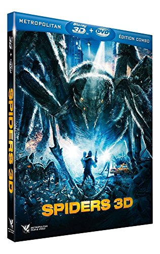 Spiders [Blu-ray 3D] [Combo Blu-ray 3D + DVD] (Spiders 3d Dvd)
