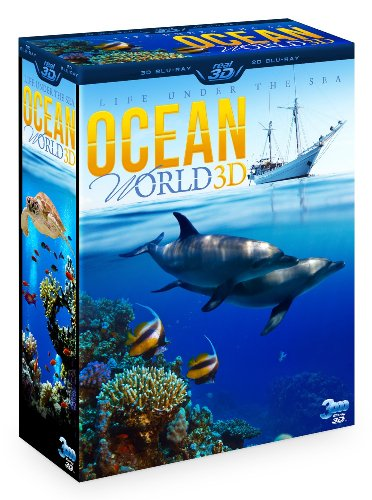 OCEAN WORLD 3D - Life under the sea (3 Disc Box Set - Special Collector's Edition) (Blu-ray 3D & 2D Version) REGION FREE [DVD]