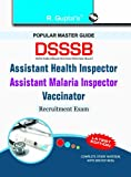 This comprehensive book is specially developed for the candidates of DSSSB—Assistant Health Inspector/Assistant Malaria Inspector/Vaccinator Recruitment Exam. This book included Study Material & Model Paper (Solved) for the purpose of practice of...