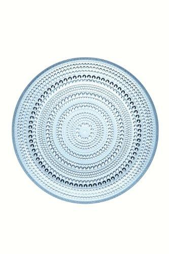 Iittala Kastehelmi Dewdrop Light Blue Dinner Plate by Iittala (Plate Blue Iittala)