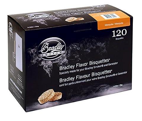 Bradley Smoker Boîte de 120 bisquettes Mesquite
