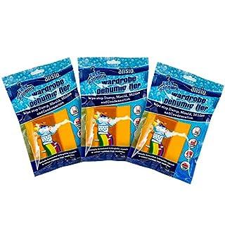 Luftentfeuchter, zum Aufhängen, Packung mit 3, 6 oder 12 Stück 3er-Pack