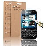 Supremery Blackberry Classic Q20 Film de verre Verre Pare-balles Film De Protection pour Blackberry Classique Q20 Affichage Verre de protection film de verre