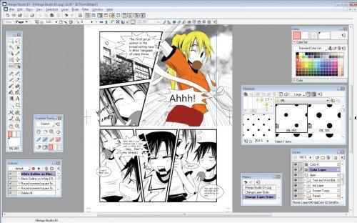 скачать manga studio ex 4 на русском