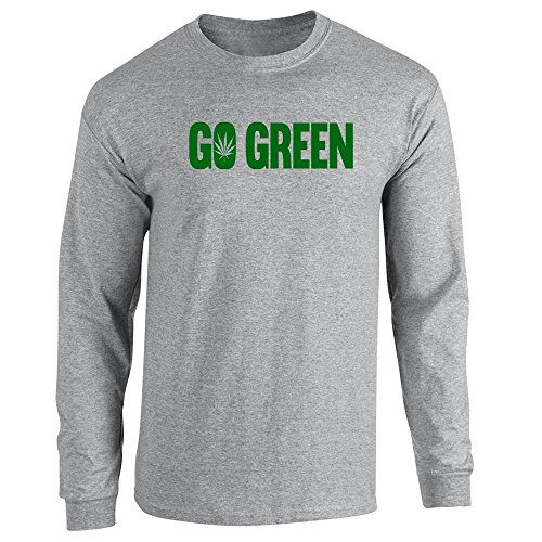 Pop Threads Herren T-Shirt Gr. Medium, Grau - Sport Grey