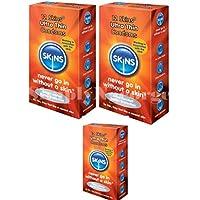 Skins Skins Ultra Thin Kondome–12Stück (Retail Pack) in versiegelter Box preisvergleich bei billige-tabletten.eu