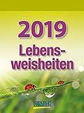 Lebensweisheiten - Kalender 2019 - Korsch-Verlag - Tagesabreißkalender - 12 cm x 16 cm