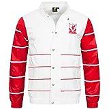 Liverpool FC Majestic Retro Striped College Jacke