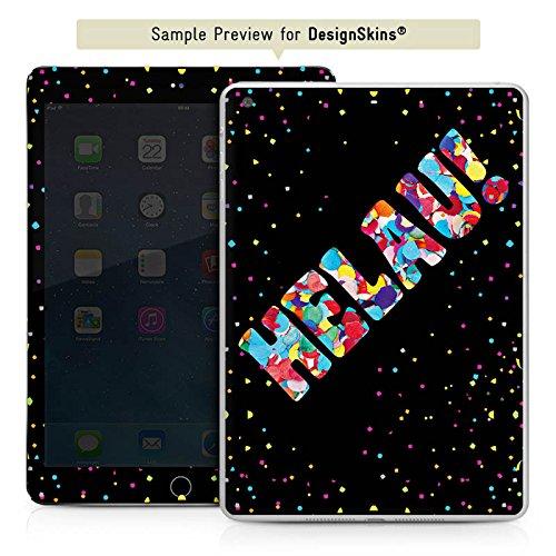 Apple iPad mini 4 Case Skin Sticker aus Vinyl-Folie Aufkleber Helau Fasching (Ideen Thema Karneval)
