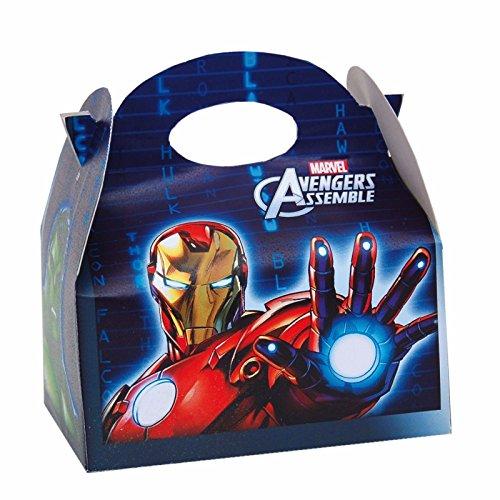 rbige Mottoparty Kinder Geburtstag Geschenk Partybeutel Taschen Beute durch Lizzy Gastgeschenken® 1 Stück Avengers (Avengers-party-taschen)