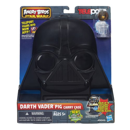 Hasbro A6057 - Star Wars - Angry Birds - Telepods Darth Vader Tragekoffer & Chewbacca Bird Figur [UK ()
