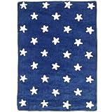Lorena Canals Alfombra infantil / niño Stars Azul 120x160 cm