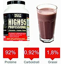 Protein 90% Liberación gradual Blend Protein | 4 fuentes de proteínas - Proteínas totales de la leche, - Caseinato de calcio, - Proteína de suero de leche ...