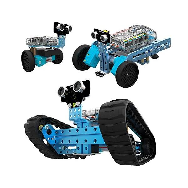 51DuoC0CwML. SS600  - Makeblock 90092 mBot Ranger. Robot Educativo 3 en 1 programable con Arduino Scratch.