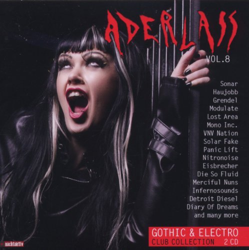 Aderlass Vol.8 - Gothic & Electro Club Collection (Club Gothic)
