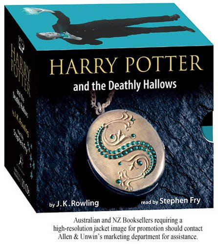 Click for larger image of Harry Potter and the Deathly Hallows  (Book 7) [Adult Edition] (Unabridged 20 Audio CD)