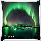 Grün Layered Insel Home Decor Werfen Sofa Auto Kissenbezug Kissen Fall 40,6x 40,6cm