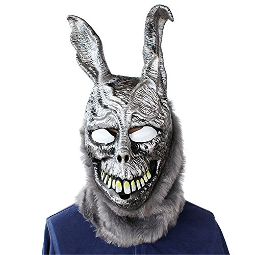 HBWJSH Halloween Horror Party Party Scary Requisiten Ghost Rabbit Frank Kaninchen Latex Maske