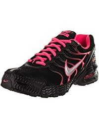 Nike Womens Air Max Torch 4 Running Shoes (9.5 B(M) US Black/Volt Pink)