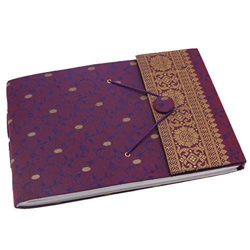 Sari Fotoalbum, 26x18cm, Violett (Sari Recycling)