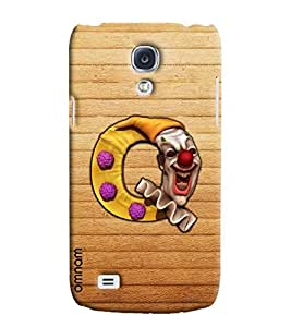 Omnam Single Name Alphabets Q Stylish Printed Designer Back Cover Case For Samsung Galaxy S4