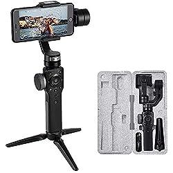 Zhiyun Smooth 4 Stabilisateur Gimbal portatif à 3 Axes Steady Shooting Video Youtube Vlog avec Le Mode Sport Contrôle pour téléphone 11 Pro/XR/XS/XS Galaxy S9 Plus / S9 / S8 Plus Huawei Gopro