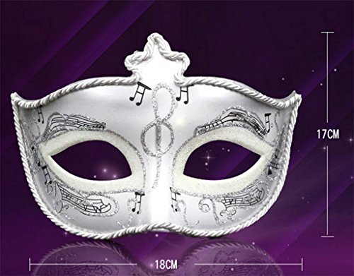 Marcus R Caveggf Masquerade Halloween Maske Metall Laser-Schnitt Rhinestone Abend Prom Venetian Mardi Gras Party Maske, Grass Green (Masken Für Mardi-gras-party)