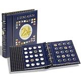 Album permettant de classer les pièces de 2 euros. Contenu : 4 pages VISTA (pour 80 pièces de 2 euros) en carton renforcé avec alvéoles à fond transparent. L'album peut contenir jusqu'à 9 feuilles VISTA (réf. MBLEU2EU) et donc au maximum 180 pièces d...