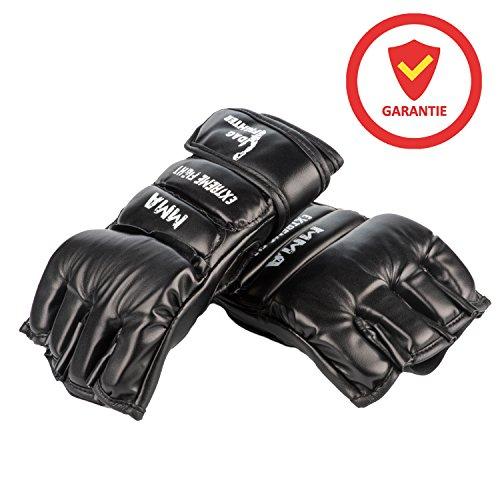 DAG Fighter MMA Handschuhe Profi hochwertige Qualität UFC optimaler Handschutz Damen Herren Abbildung 2