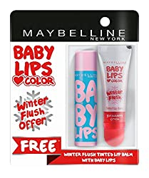 Maybelline New York Baby Lips, Winter Flush, 4.4g and Baby Lips, Anti Oxidant Berry, 4g