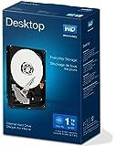 WD Blue Kit Disque dur interne Desktop Mainstream 1 To 3,5 pouces SATA 7200 RPM