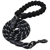 KEESIN 5FT Starke Hundeleine Hund Hund Seil mit Weichen Gepolsterten Griff und stark Reflektierende Themen für Hunde Waliking, Jogging und Training