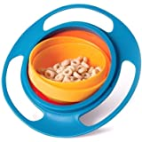PRISHA® Gyro Bowl for Baby and Kids, Spill 360 Degree Rotation Spill Proof Food Bowl,Multicolor, Pack of 1