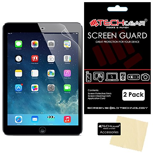 Apple iPad Air 2 TEACHGEAR [Pack 2] (iPad 6 6th Generation) ANTI-GLARE/LCD Matt Displayschutzfolien mit Reinigungstuch & Karte