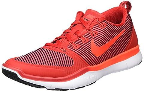 Nike Herren Free Train Versatility Hallenschuhe, Rot (Total Crimson/Gym Red/White/Black), 41 EU (Nike Free Trainer Rot)