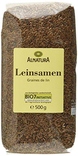 Alnatura Bio Leinsamen, 7er Pack (7 x 500 g) -