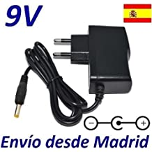 Cargador Corriente 9V Reproductor DVD Wolder Emotion 3 Limited Edition Recambio Replacement