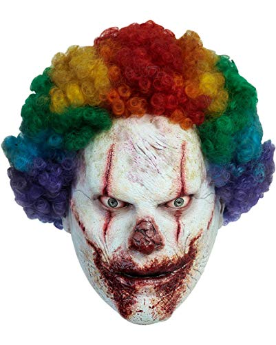 Horror-Shop Killer Clown Halloween Maske