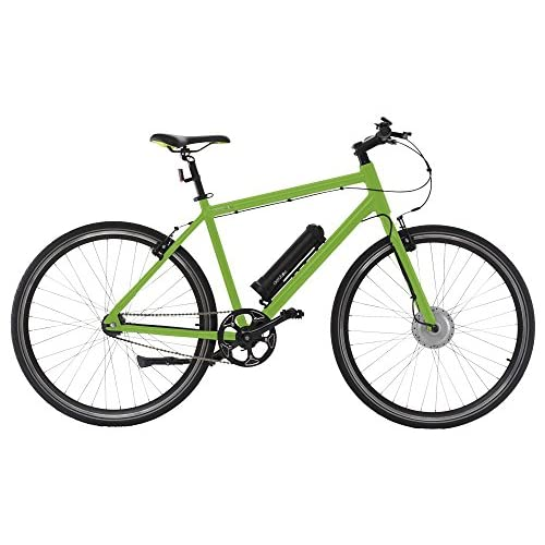 "51Dv%2Bzbo3EL. SS500  - AEROBIKE Electric Bike Mens Hybrid eBike Bicycle 28"" Wheels Pedal Assisted Mountain Bike with 36v Li-ion Battery and SRAM® Automatix Gear System"