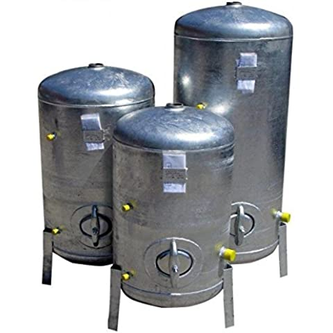 Impresión Depósito 300L 9Bar Vertical galvanizado Caldera galvanizado para casa de agua