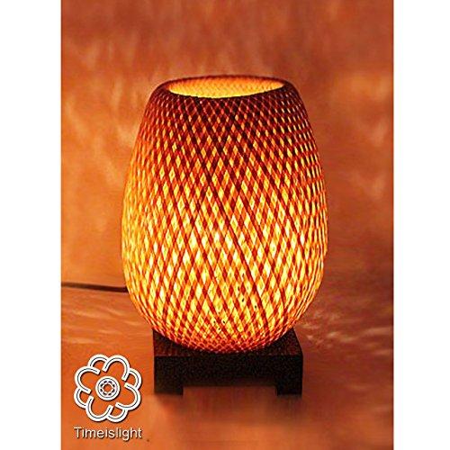 Meilleurs Bambou Les 2019 Chevet D'août Zaveo Lampes gyfb76