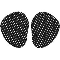 sourcingmap® 1 Paar Schwarz Weiß Punkt Gel Hackenschuhe Vorfuß Mittelfuß Kissen Einlegesohle preisvergleich bei billige-tabletten.eu