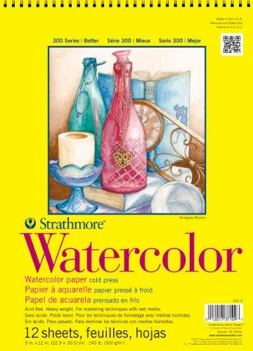 Strathmore Artist Papier 300Serie Aquarellpapier Pads (22,9x 30,5cm)