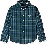 Gant Boys' Shirt (GBSEF0014_Bottle Green...