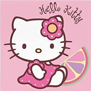 20 serviettes papier Hello Kitty Bamboo™