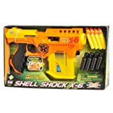 Lanard Shell Shock X-6 with Ammo Clip