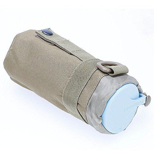 ?HuntGold Outdoor Wandern Reisen Taktisch Militärisch Wasserkocher Beutel Tasche Flaschenhalter Schlammgelb
