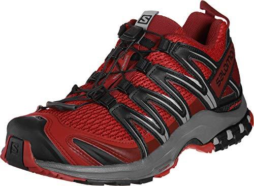 Salomon XA Pro 3D GTX Scarpe da Trail, Uomo, Rosso (Barbados Cherry/Stormy Weather/Black), 41 1/3 EU