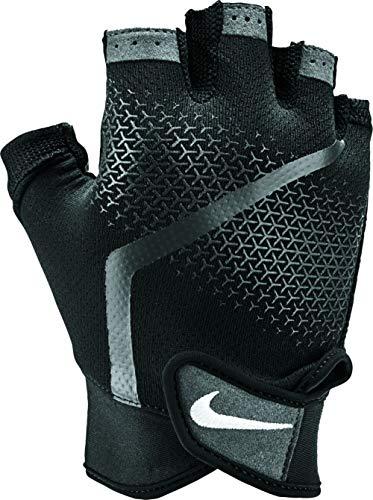 Nike Herren-Trainingshandschuhe , Schwarz/Anthrazit/Weiß , Gr-L (Fitnessstudio Handschuhe Nike)