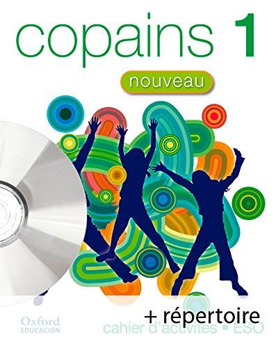 Pack copains nouveau 1º cahier d'activités + répertoire + cd - multirom